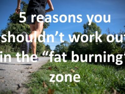"""5 Reasons You Shouldn't Always Workout in the """"Fat-Burning"""" Zone"""
