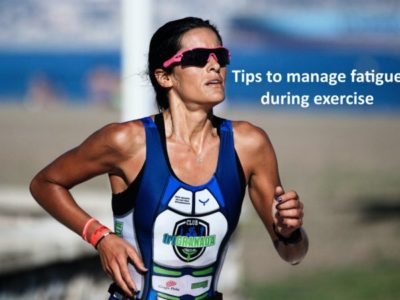What causes fatigue when exercising?
